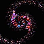 ספירלת לבבות מחברת נשמות תאומות
