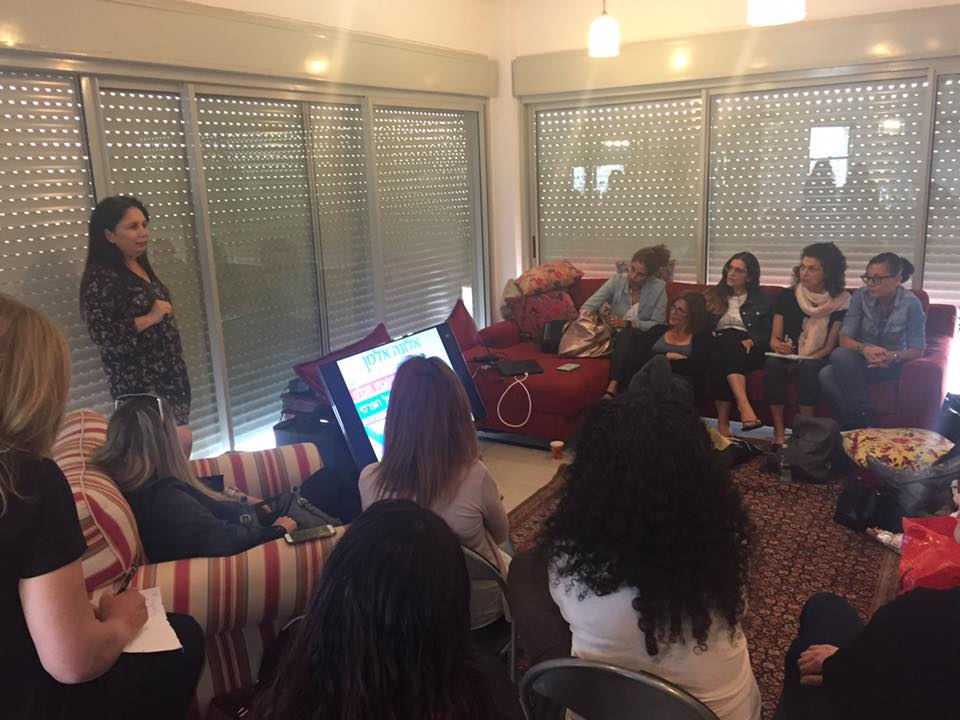 אלונה אלמן בסדנה על שיווק מבוסס אישיות בפייסבוק