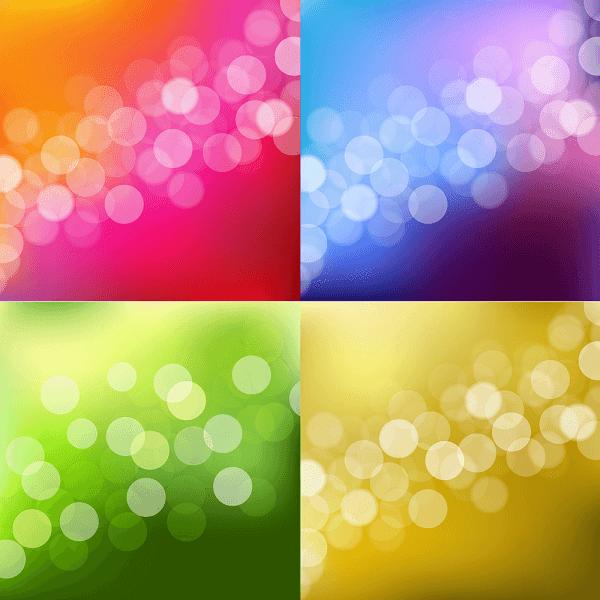 4 ריבועים עם דפוסים שונים