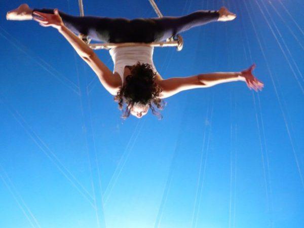 michal polat, trapeze artist