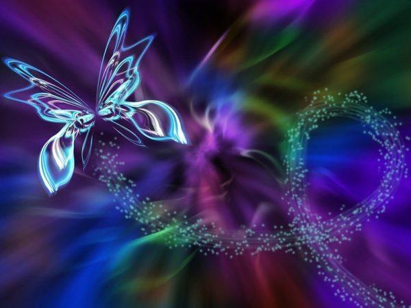 פרפר עף באנרגיה משתנה וכאוס